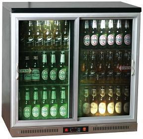 Şişe Soğutucu Buzdolabı Sürgü Kapılı
