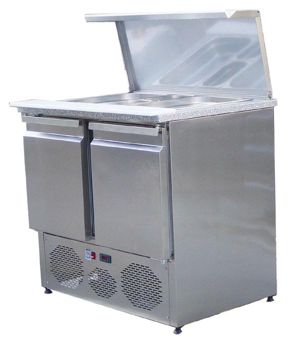 2 Kapılı Motor Altta Salata Hazırlık Buzdolabı