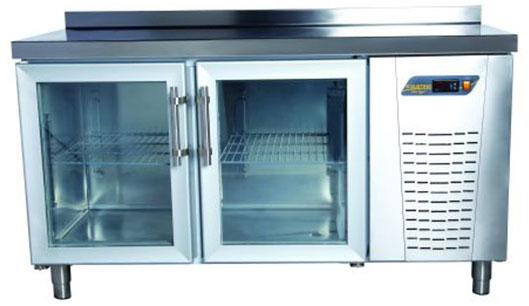 Tezgah Tipi 2 Cam Kapılı Buzdolabı