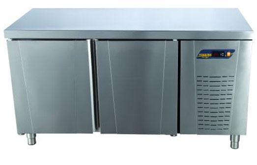 Tezgah Tipi Difriz Buzdolabı Düz Tablalı 2 Kapılı