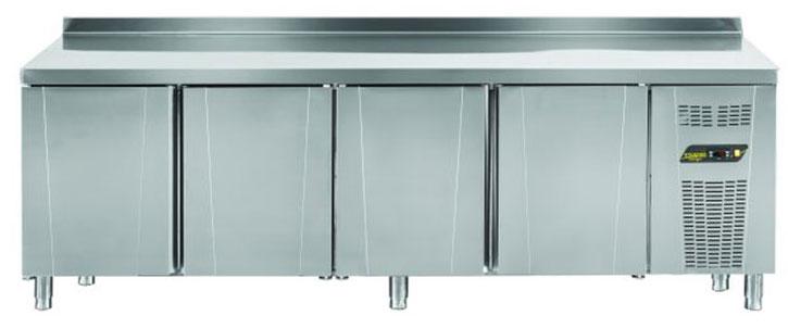 Tezgah Tipi Difriz Buzdolabı 4 Kapılı